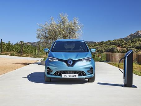 Uber se alia com Renault e Nissan para disponibilizar carros elétricos para motoristas europeus