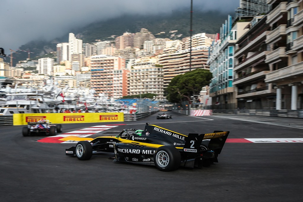 F-Renault Eurocup: Collet conquista primeiro pódio no geral em Mônaco