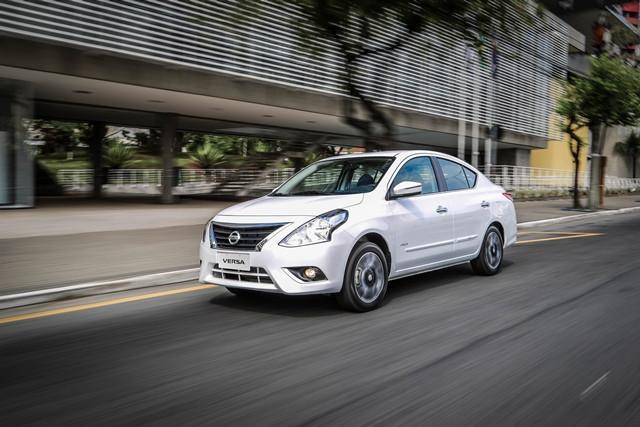 Vendas do Nissan Versa crescem 25% após restyling e inicio da produção em Resende (RJ)