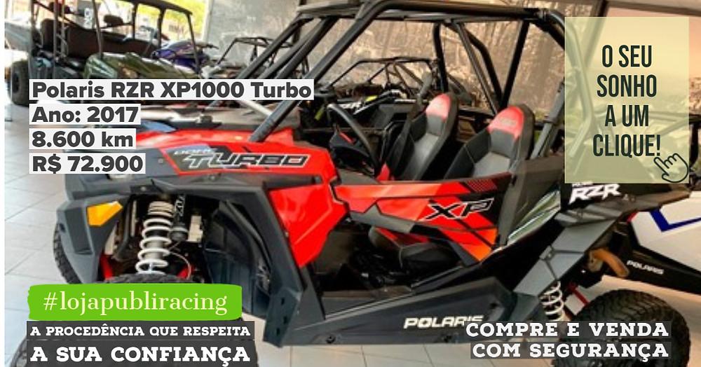 ACESSE #LOJA CLICANDO - Polaris RZR XP1000 Turbo - Ano 2017