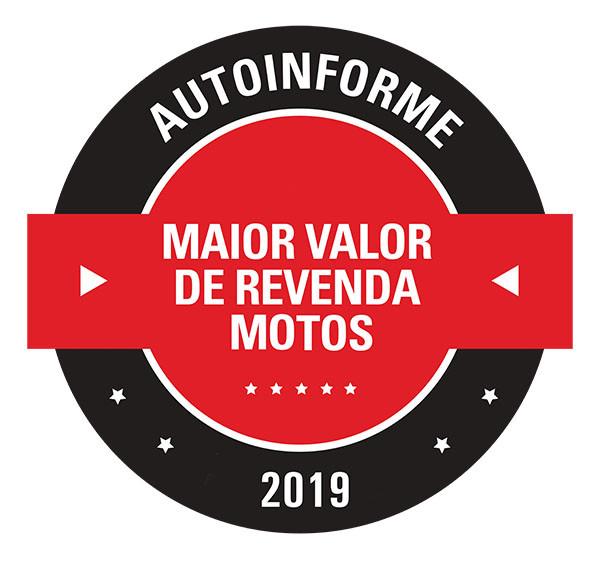 Selo Maior Valor de Revenda-Motos 2019