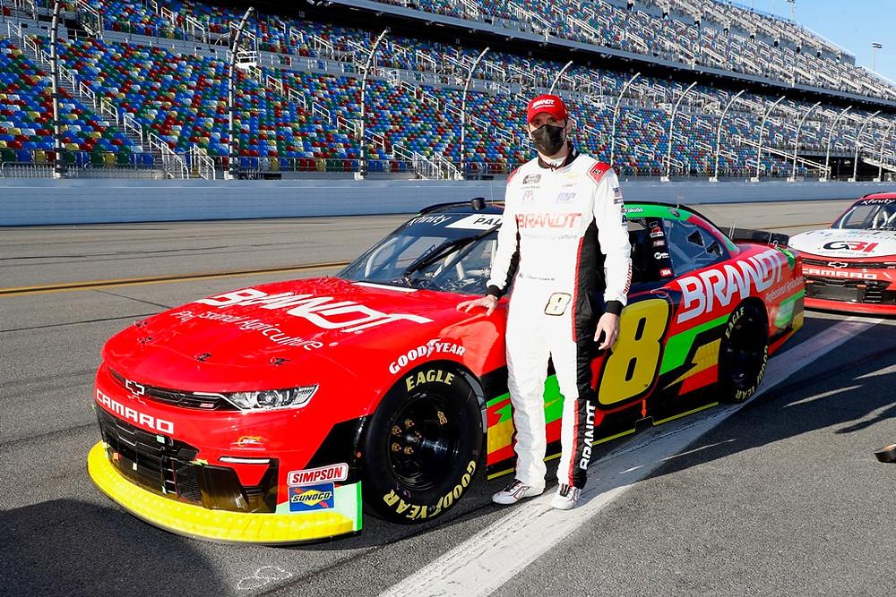 Miguel Paludo é sétimo em Daytona em seu retorno à Nascar