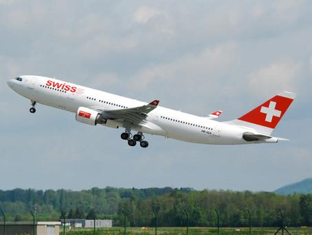 SWISS tem promoção até dia 22 com passagens para a Europa a partir de US$ 449