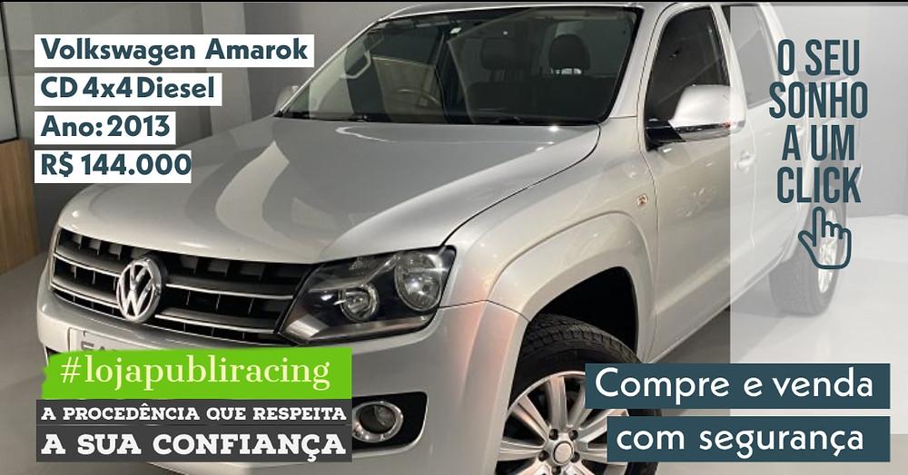 ACESSE #LOJA PUBLIRACING - Volkswagen CD 4x4 Diesel - Ano 2013