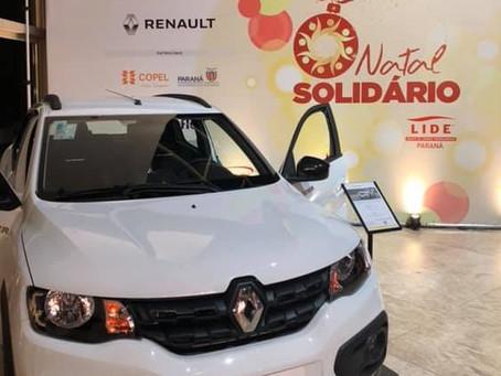 Instituto Renault doa Kwid ao Hospital Erasto Gaertner