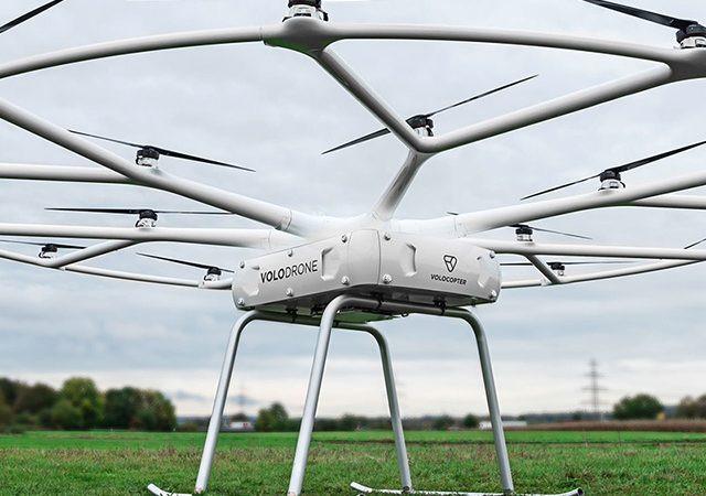 Expressas: Volocopter e Schenker desenvolvem drone para carga pesada