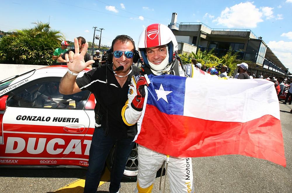 Com três argentinos e três chilenos, Porsche GT3 Cup Challenge chega a Termas de Rio Hondo