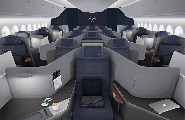 Lufthansa revela o novo conceito da Business Class, disponível em 2020 com a chegada do Boeing 777-9