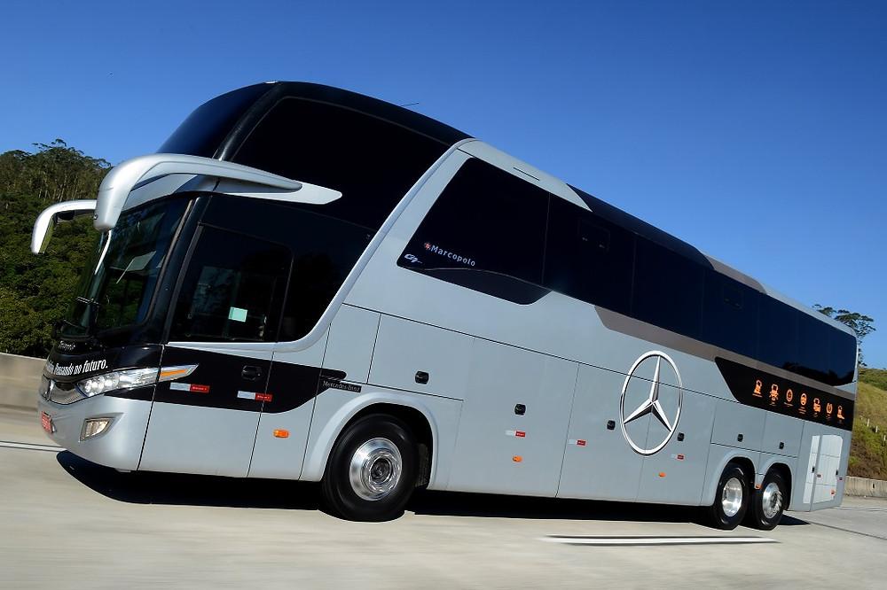 Mercedes-Benz lança tecnologias para redução do consumo de combustível e de emissões em ônibus
