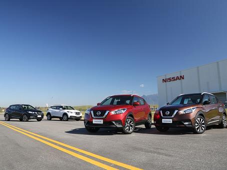 Modelo Kicks da Nissan registra seu maior volume de vendas em um mês desde o lançamento
