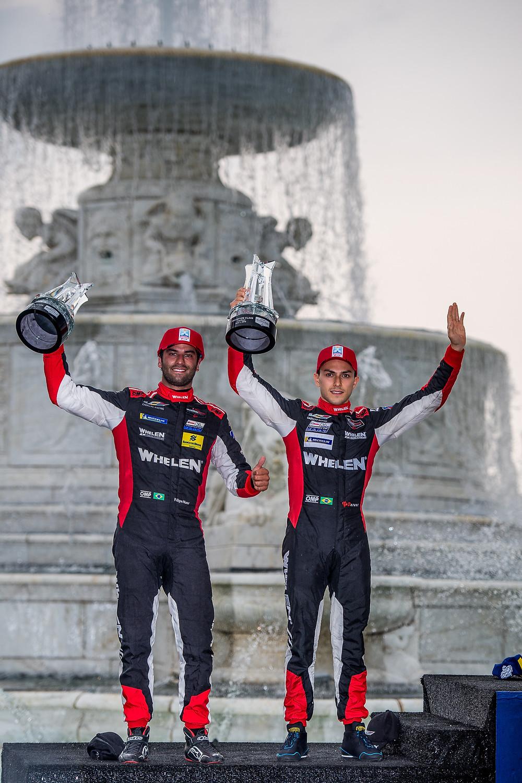 IMSA: Nasr e Derani conquistam mais um pódio e seguem na liderança do campeonato