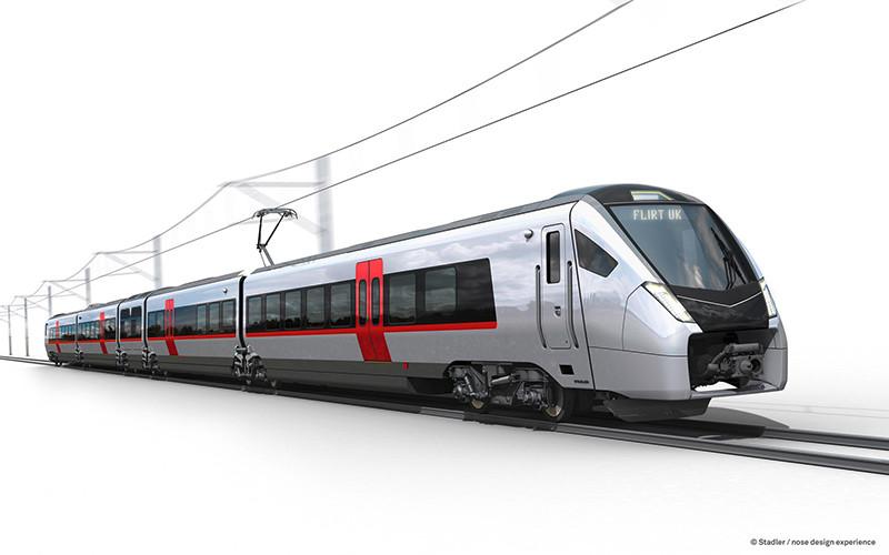 Stadler vai entregar 58 trens Flirt para o operador do Reino Unido, East Anglia