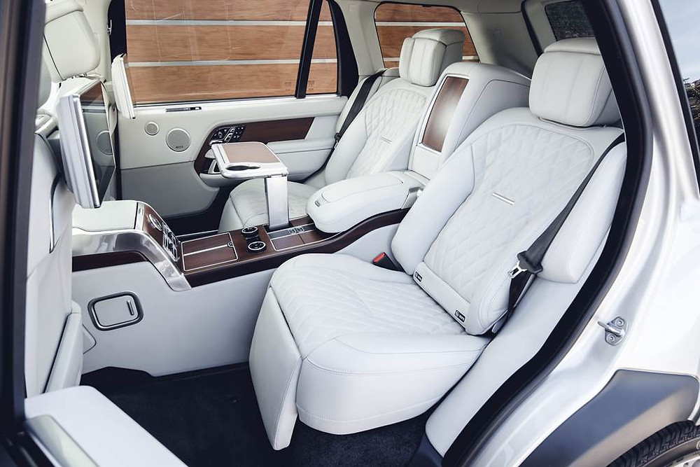 Modelo mais luxuoso da Range Rover, SVAutobiography, não tem previsão de chegada ao Brasil