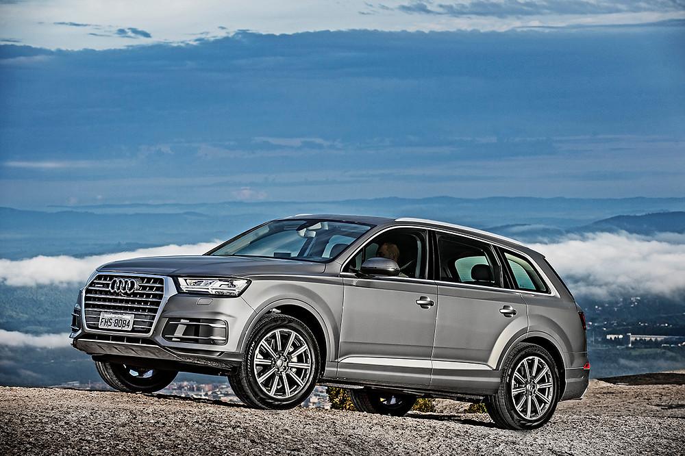 Novo Audi Q7 chega por R$ 399.990