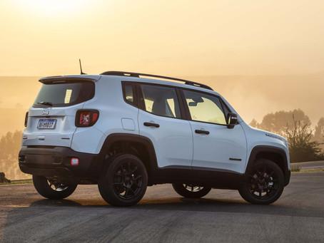 Com 7.878 carros emplacados, Jeep Renegade tem recorde de vendas em dezembro