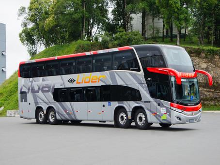 Líder adquire ônibus da linha New G7 da Marcopolo