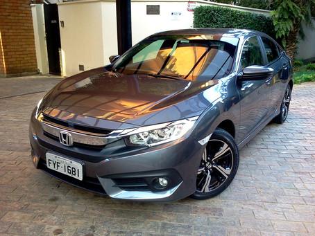 Avaliação: Civic na versão EXL, um equilibrado pacote para o sedã da Honda