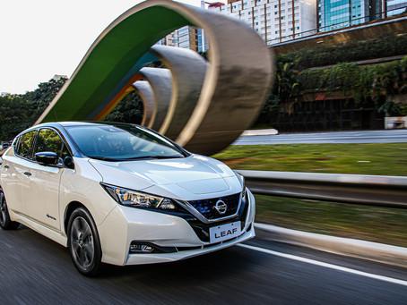 Manutenção do novo Nissan LEAF custa 30% a menos do que carros a combustão