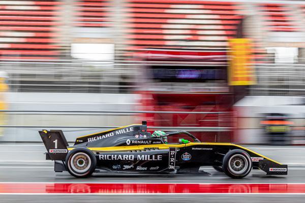 F-Renault Eurocup: Caio Collet repete segunda posição em Barcelona