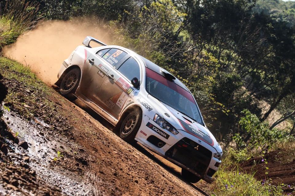 No moribundo campeonato brasileiro de rally de velocidade, dupla Ulysses Bertholdo e Marcelo Dalmut, vencem mais uma