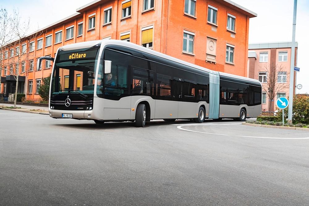 Cidade francesa de Rennes faz pedido para 92 ônibus elétricos eCitaro da Mercedes-Benz