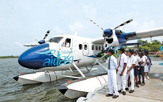 SriLankan Airlines oferece serviço de táxi aéreo
