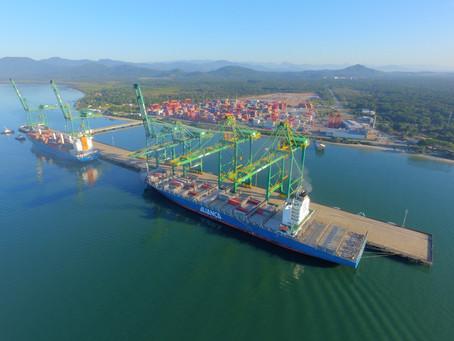 Logística: O Porto Itapoá está na rota dos grandes navios