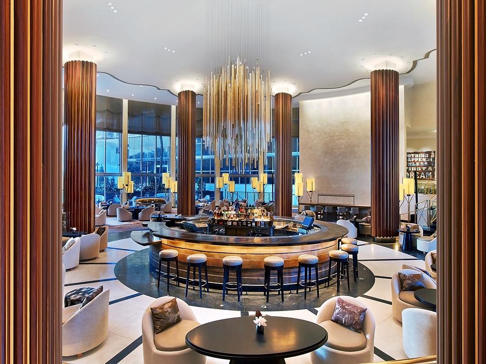 Nobu Eden Roc Lobby lounge