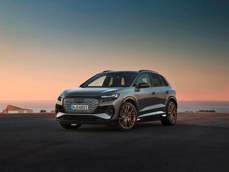 Novos Q4 e-tron e Q4 Sportback e-tron são os primeiros SUVs compactos elétricos da Audi