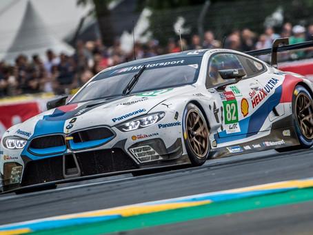 Augusto Farfus tem bom desempenho em Le Mans com a nova BMW M8 GTE, mas abandona após acidente