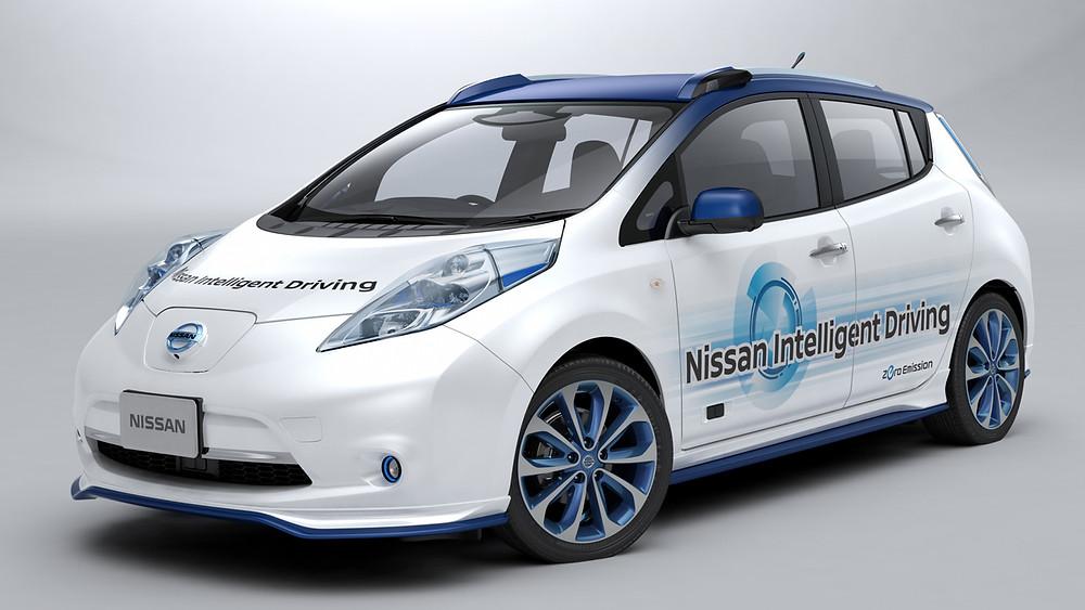 Nissan realiza os primeiros testes do seu veículo de condução autônoma em ruas e estradas reais
