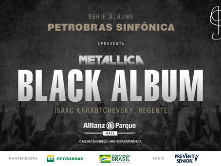 """Orquestra Sinfônica apresenta versão inédita do """"Black Album"""", da banda Metallica, no Allianz Parque"""