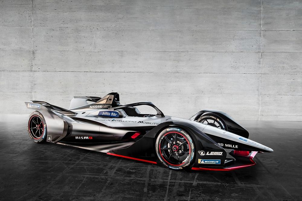 Nissan revela conceito visual de seu carro para a Fórmula E