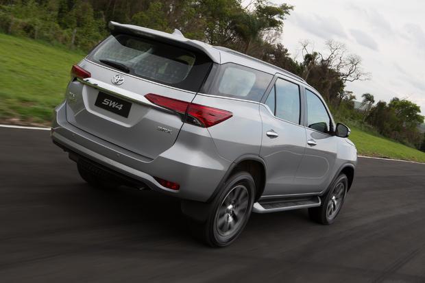 Chega da Argentina a nova geração da Toyota SW4