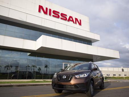 Nissan Kicks atinge marca de 100 mil unidades fabricadas no Complexo Industrial de Resende