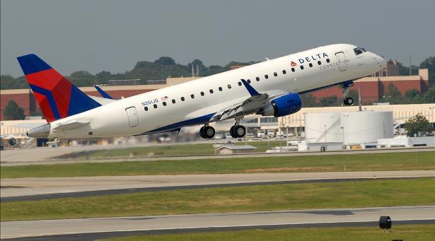 SkyWest, Inc. compra 19 jatos E175 adicionais para voar pela Delta Air Lines