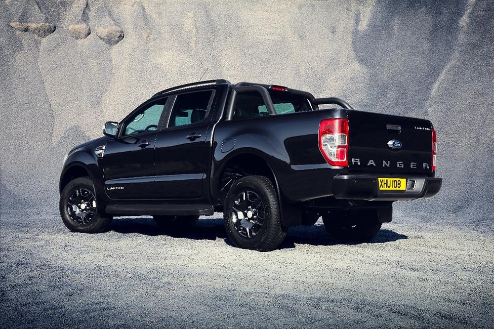 """Ford apresenta versão especial da Ranger """"black edition""""no Salão de Frankfurt"""