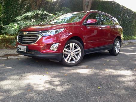 Avaliação: Chevrolet Equinox, o SUV de pegada esportiva.