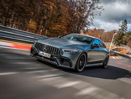 Mercedes-AMG GT 63 S 4MATIC+ é o veículo de luxo mais rápido no Nordschleife