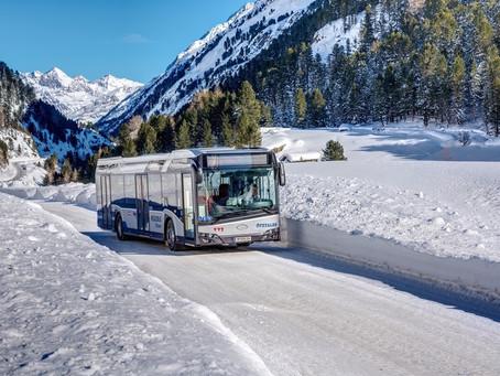 Solaris vai fornecer até 182 ônibus para operador na Áustria
