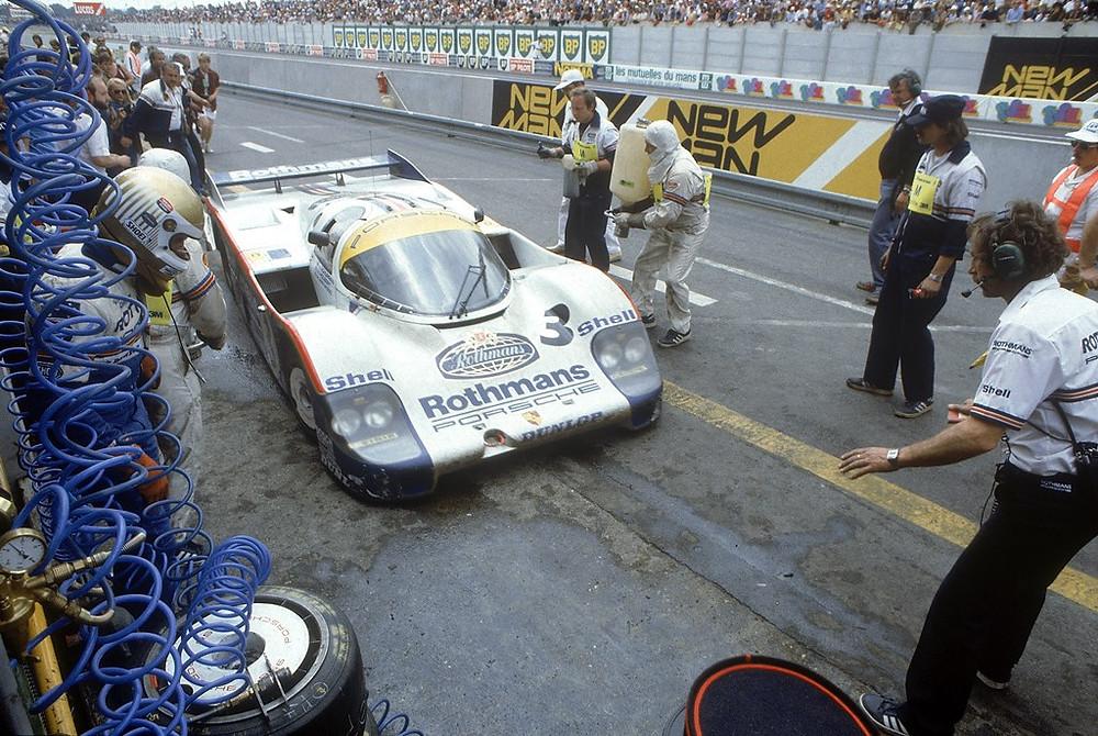 Le Mans 1983: Porsche 956 LH (No. 3) com Vern Schuppan, Hurley Haywood e Al Holbert (vitória classificação geral).