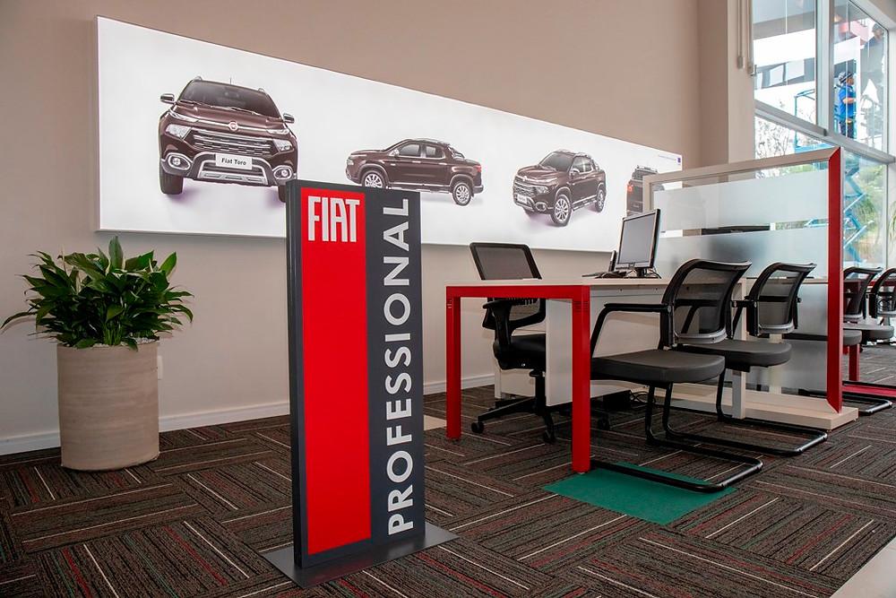 Fiat inaugura primeira concessionária com a nova identidade visual da marca