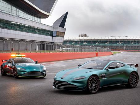 Com mais 25 cv, Aston Martin apresenta versão exclusiva Vantage F1