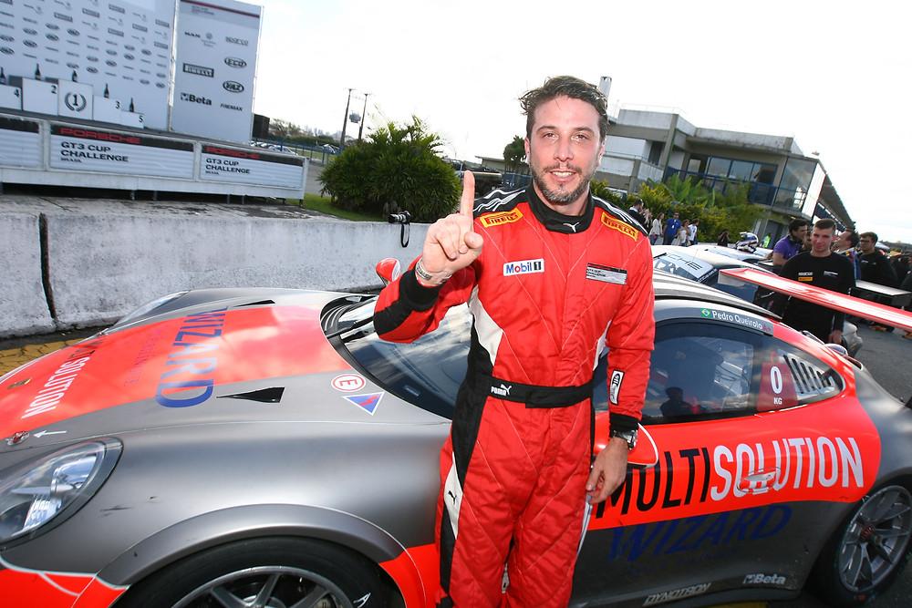 Pedro Queirolo - Vencedor da 2ª Corrida da Porsche GT3 Cup