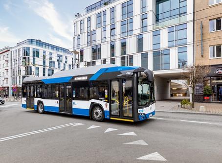 Solaris vende 16 ônibus Trollino 12 com emissão zero para operador na Alemanha