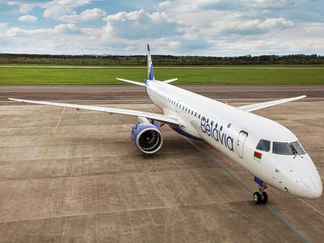 Aviação: Belavia recebe o primeiro Embraer E195-E2