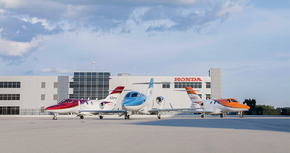 Aviação: HondaJet é a aeronave mais entregue em sua categoria pelo quarto ano consecutivo