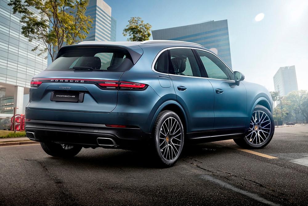 A partir de R$ 423.000,00 nova geração do Porsche Cayenne chega ao Brasil