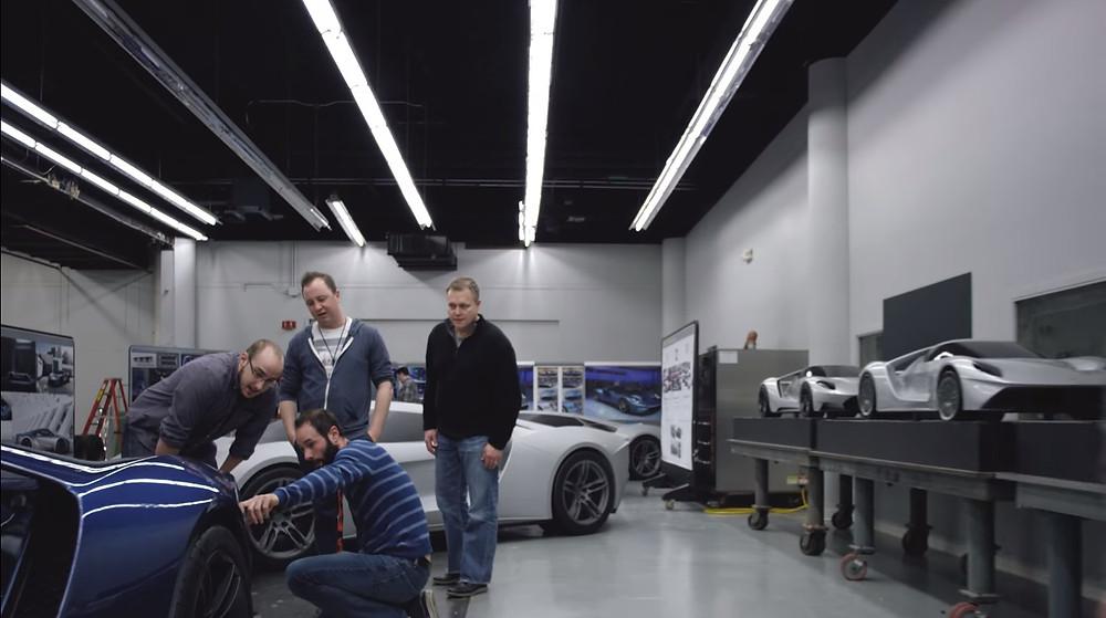 Vídeo mostra os bastidores da criação do Ford GT