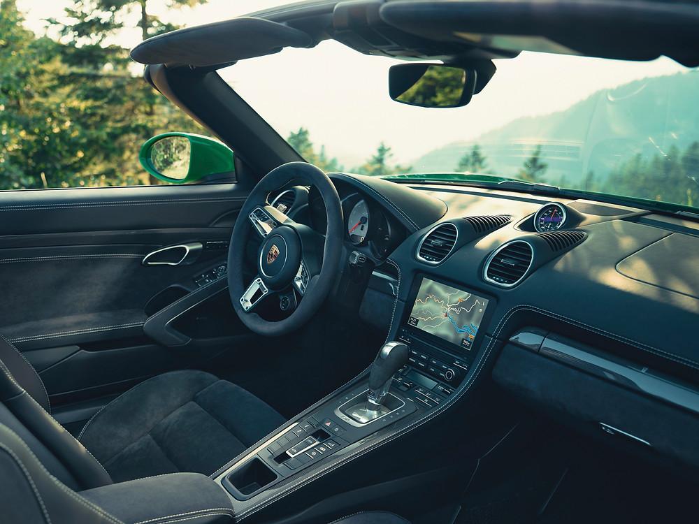 Transmissão Porsche de dupla embreagem também nos modelos 718 topo de linha